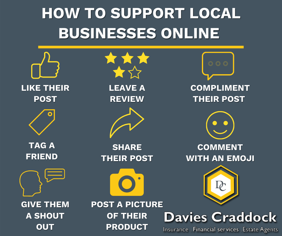 How to support local businesses online